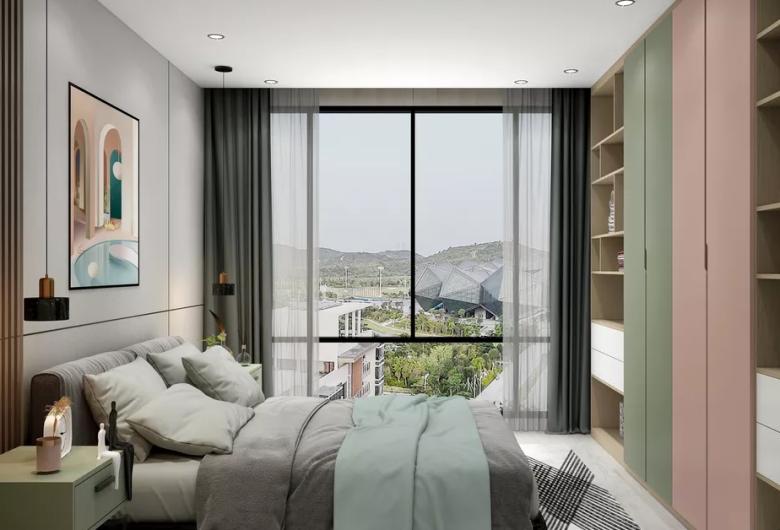 北欧风格卧室装修设计案例