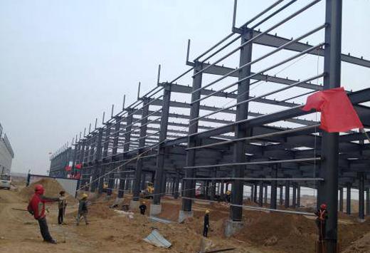 厂房钢结构工程