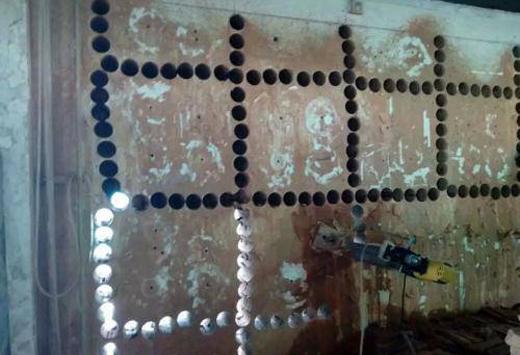 外墙水钻钻孔