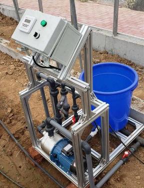 单通道小型简易水肥一体机