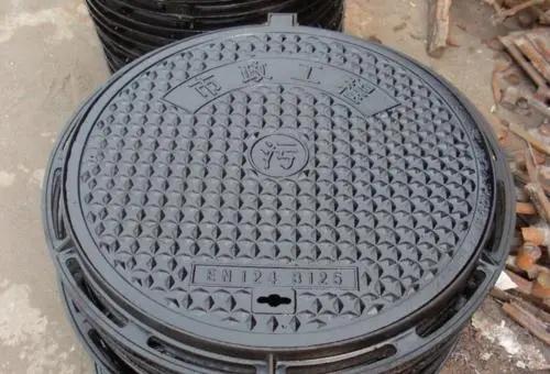 球墨铸铁井盖使用中出现下沉原因