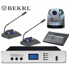 BK-661 液晶显示视像跟踪数字会议系统