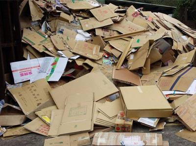 废纸板回收
