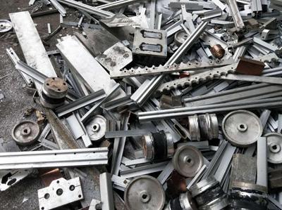 大学城废铝回收后的废铝处理说明