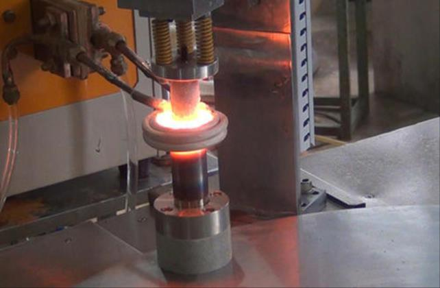 轴套感应加热钎焊