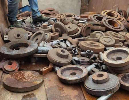 废铁配件回收案例