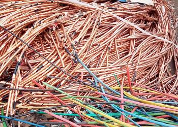 回收废旧电缆