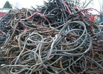 回收废弃电线