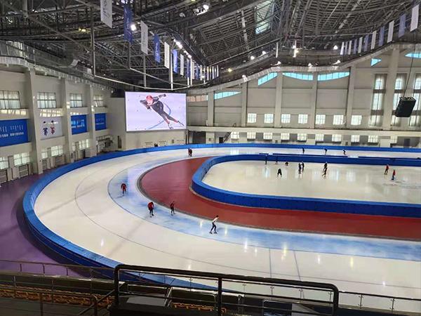 短道速滑冰場防護墊與標準冰場保護墊材質是什么樣子的?