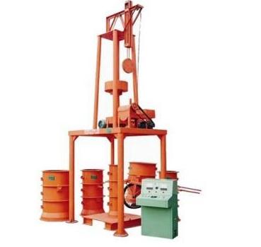 立式小型水泥制管机