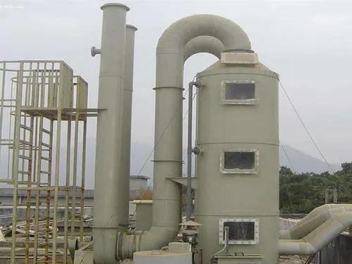 废气净化塔事前准备工作漏油时预防