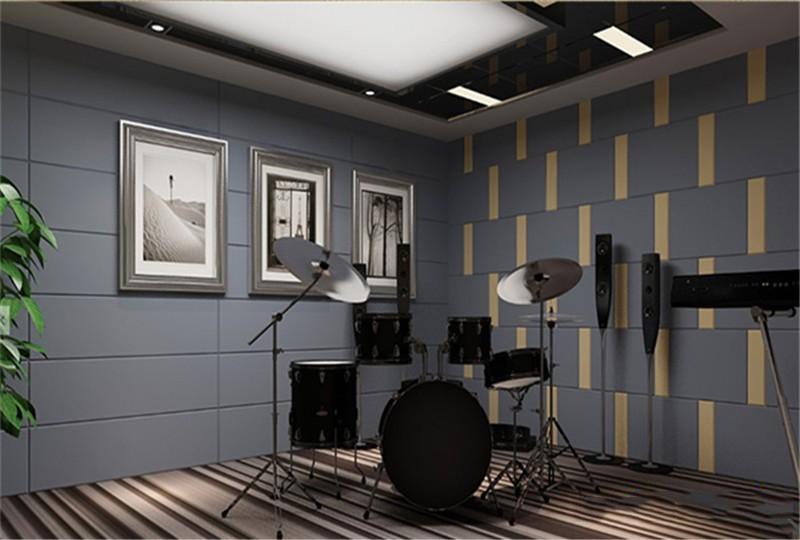 架子鼓房隔音降噪工程案例