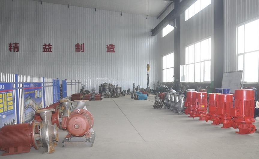 消防泵的特性以及技术选型与实际应用