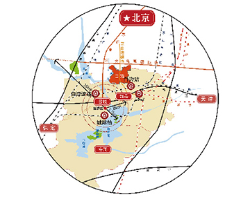交通区域图