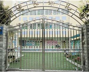 不锈钢幼儿园大门