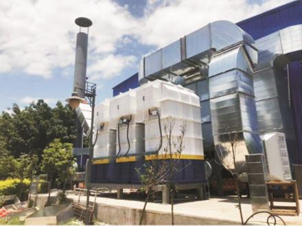 十九冶西昌设备机构烘烤废气处理项目(3000)风量