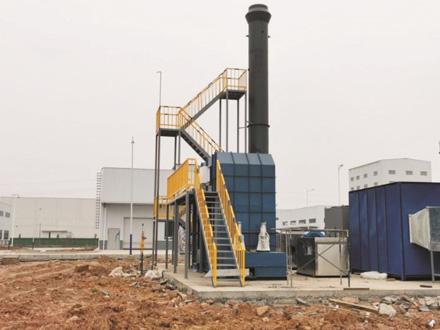 四川渝三峡油性涂料废气处理项目(45000风量)