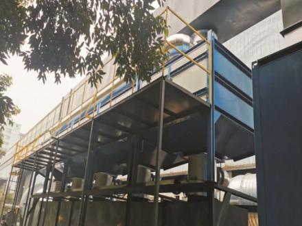 建工工业集团喷涂废气处理项目(10万风量)