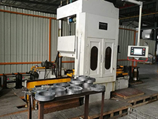 数控电机定子叠片压焊机