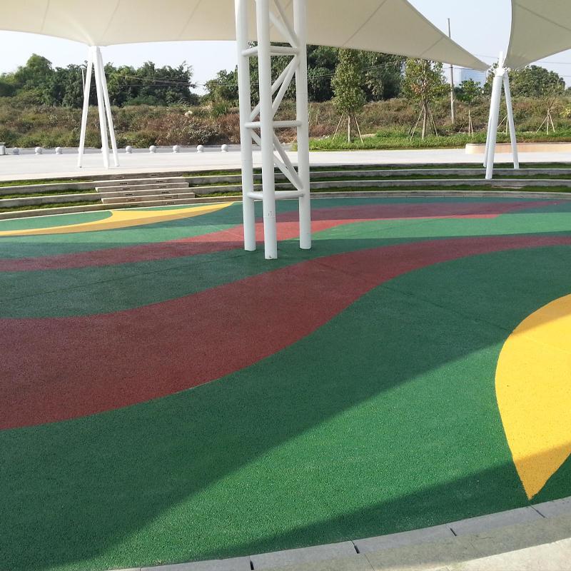 彩色艺术地坪