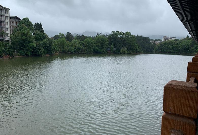 丁山湖风景