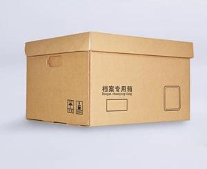 文件档案专用纸箱