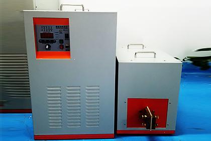 容大电源分享高频加热机的操作步骤