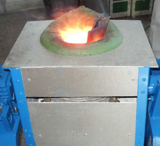 容大电源分享中频熔炼炉的操作流程