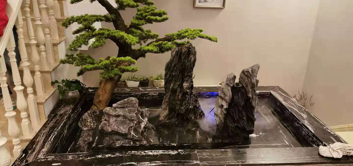 真石假山盆景