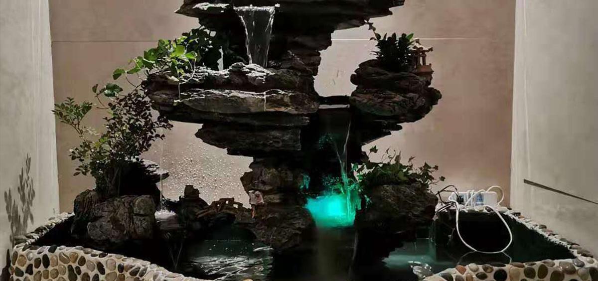 真石塑石假山