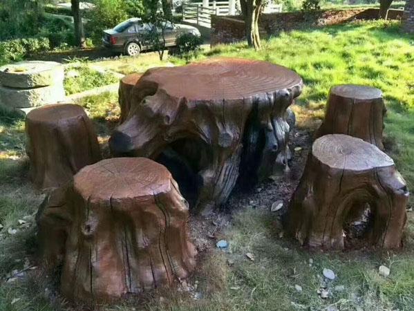 如何延缓蘑菇亭出现开裂现象