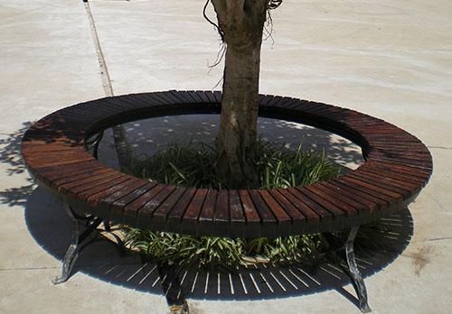 风景区防腐木坐凳