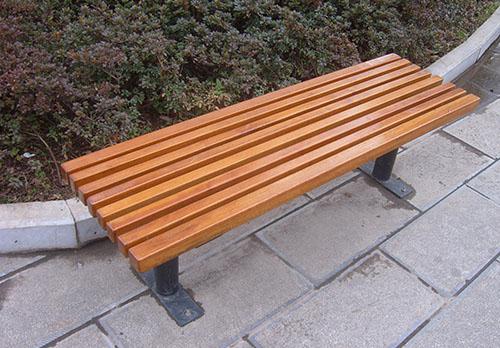 旅游景区防腐木坐凳