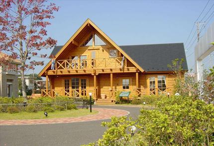 旅游度假小镇木屋別墅