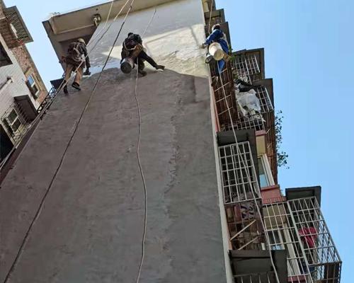 重庆外墙涂料修复施工方案