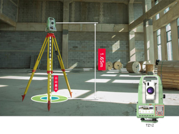观察角度可以用测绘仪器来