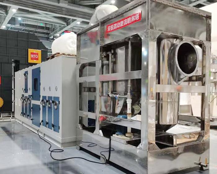 RTO沸石转轮催化燃烧一体机