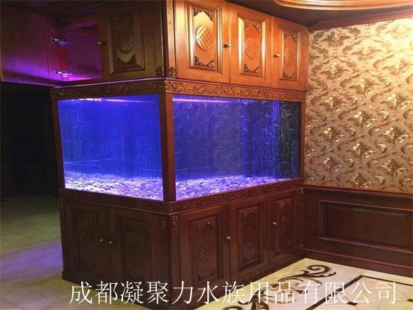 重庆嵌入式鱼缸订制厂家