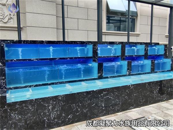 重庆超市海鲜池定制