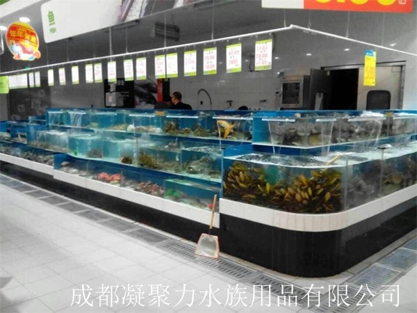 重庆超市海鲜池定制厂家