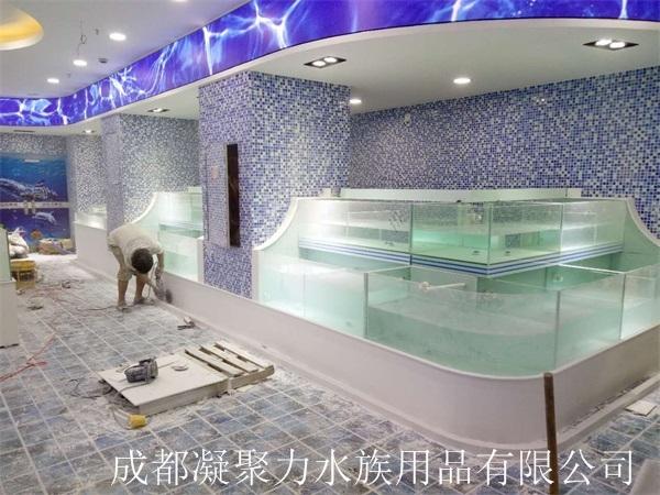 重庆超市河鲜池定做厂家