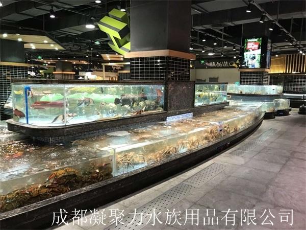 重庆超市河鲜池订制厂家