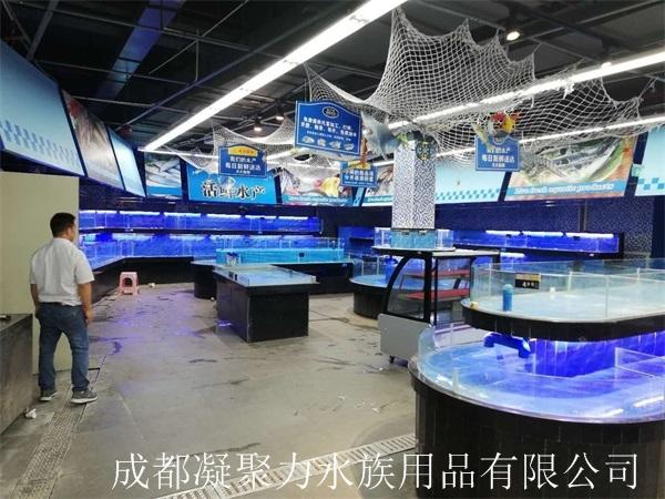 重庆河鲜池订制厂家
