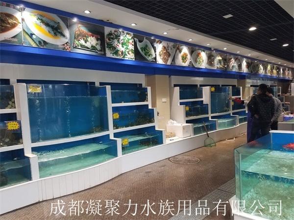 重庆酒店海鲜池定做厂家
