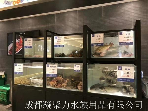 重庆酒店河鲜池订制厂家