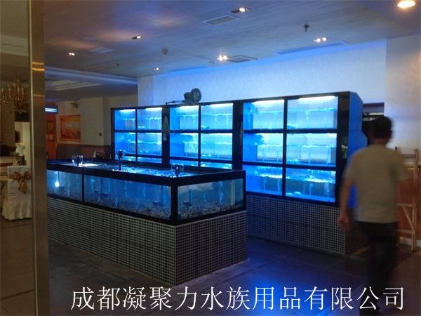 重庆河鲜池定做