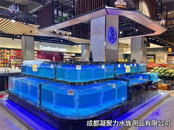 重庆超市鱼缸定制