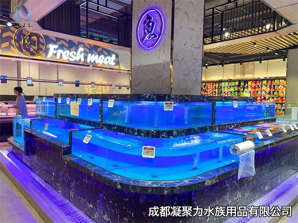 重庆超市鱼缸定做