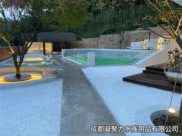 重庆无边际游泳池订制