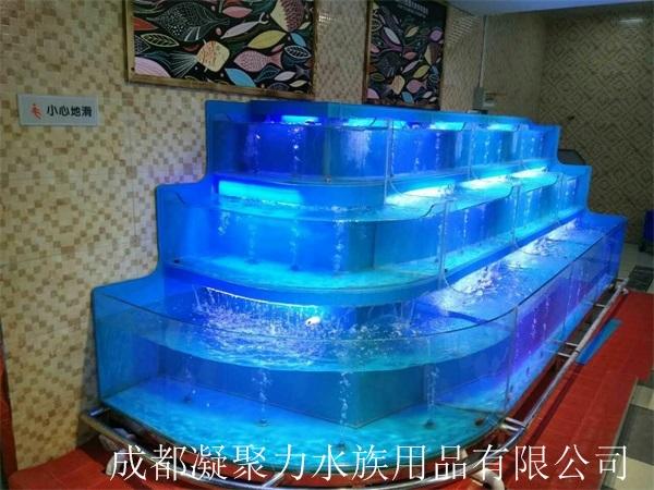 绵阳上海华联超市鱼缸定做厂家